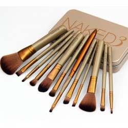 Naked3 -12 Pinceaux Make-Up...